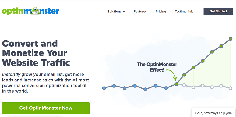 Optinmonster,最佳CTA,最佳行动呼吁插件