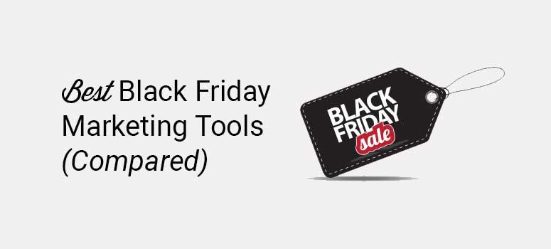 最佳黑色星期五营销工具